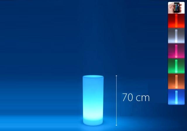louer une colonne lumineuse à Paris