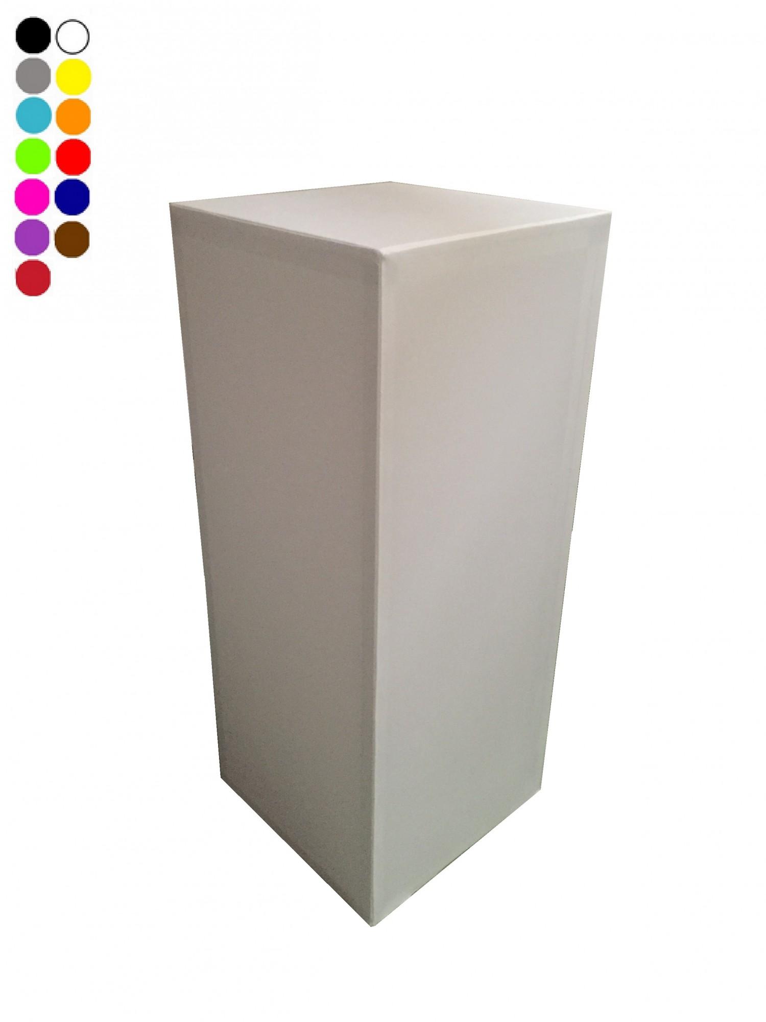 Location de stèle lycra blanc d'exposition à Paris