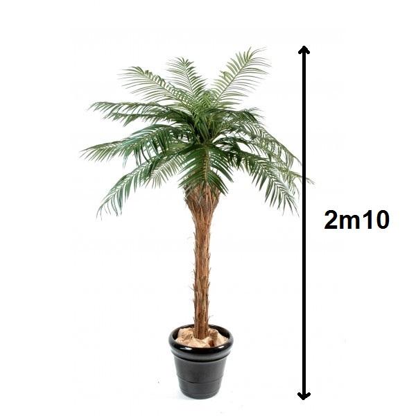 Location de palmier artificiel 2m10 location mobilier de for Bambou artificiel 2m