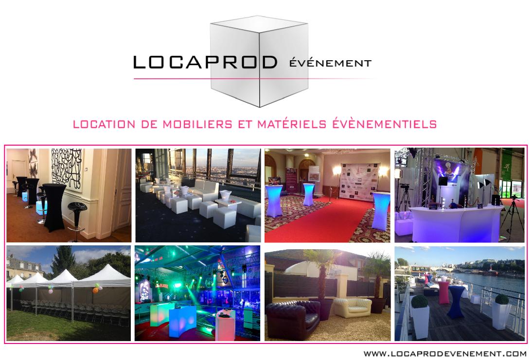 Location de mobilier et matériel de réception en Ile de France ...