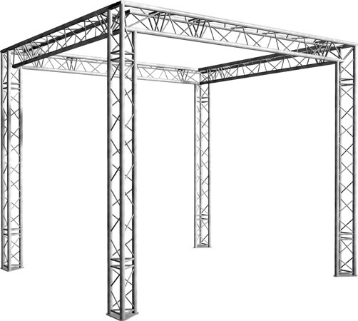 Location de structure aluminium carré à Paris
