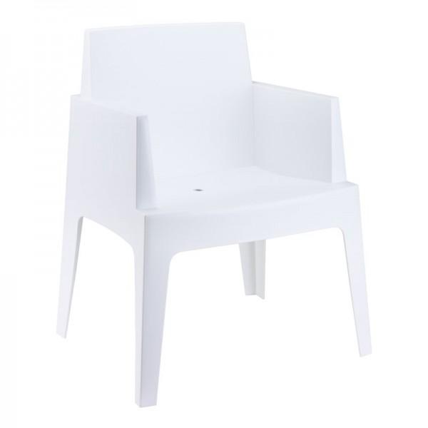 Location de fauteuil moderne blanc à Paris