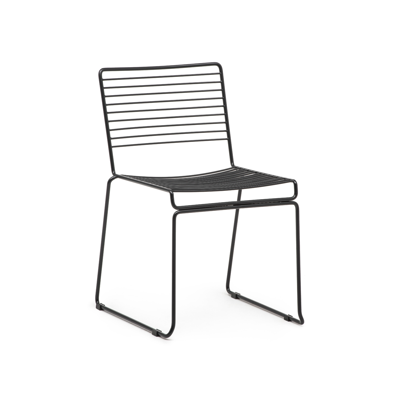Location de Chaise Steel Noire Location mobilier de réception