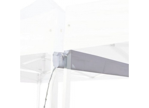 Gouttière de toit pour tente pliante