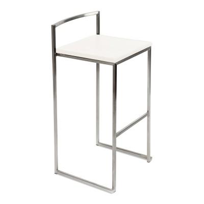 Location de chaise haute design blanc pour soirée à Paris