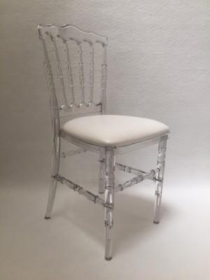 Location de chaise napoléon transparente à Paris