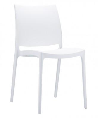 Location de chaise Trix blanche à Paris