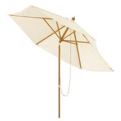 Parasol blanc à louer en Ile de France