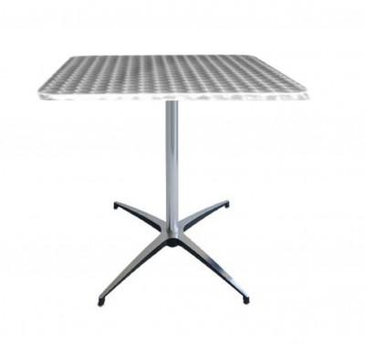 Location de table guéridon Bistro en aluminium à Paris