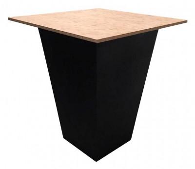 Location de table haute noire en bambou en Ile de France