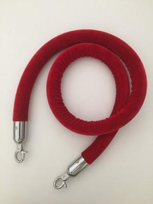 Location de corde rouge pour potelet argent à Paris
