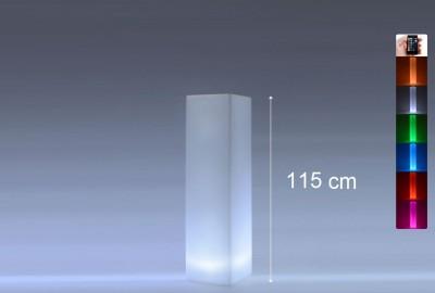 Location de colonne lumineuse carrée en Ile de France