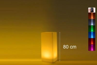 Location de colonne carrée lumineuse à Paris