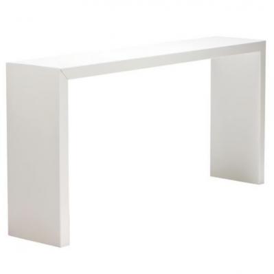 location de table haute titan blanche location mobilier de. Black Bedroom Furniture Sets. Home Design Ideas