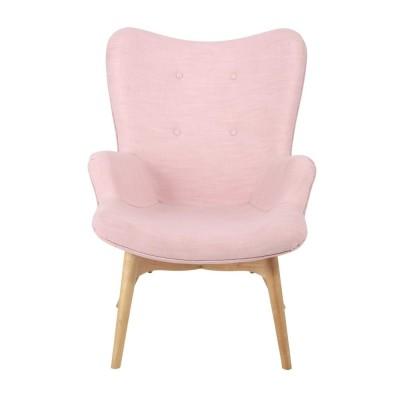 Location de fauteuil Rose Scandinave en Picardie