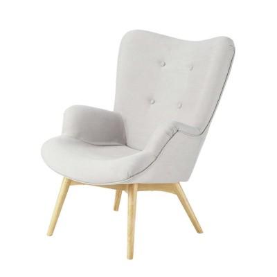 Location de fauteuil Scandinave Copenhague Gris à Paris