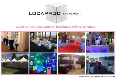 Louer du mobilier et matériel événementiel à Paris et région Parisienne