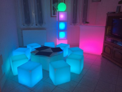 Louer cube lumineux dans l'Oise pour vos événements