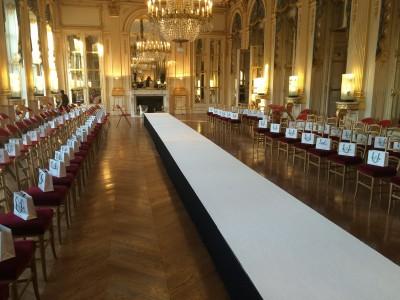 Location de scène habillée pour défilé de mode à Paris (75)