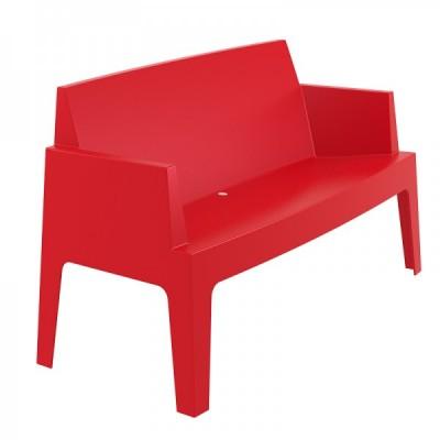 Location de canapé design rouge à Paris