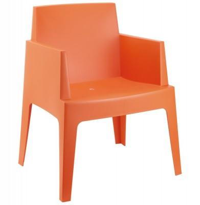 Location de fauteuil orange design à Paris