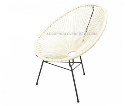 Location de fauteuil vintage acapulco en région parisienne