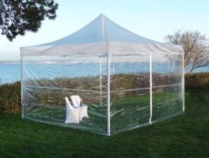 Location de tente transparente en Ile de France
